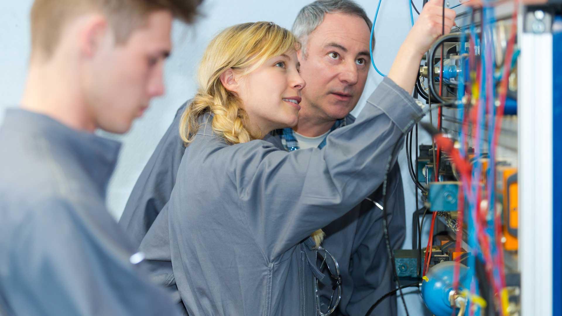 Stellenausschreibung/Jobangebot: Elektroniker für Energie- und Gebäudetechnik (m,w,d)
